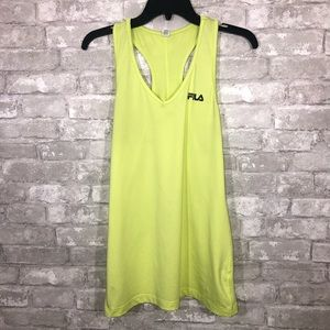 Women's Fila Neon Workout Tank